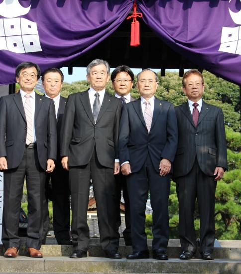 堀尾吉晴公法要及び松江湖城LC訪問