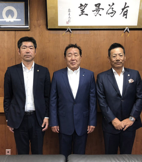 【2019】表敬訪問