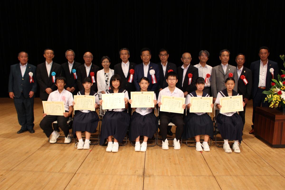 第13回丹羽郡中学生スピーチコンテスト
