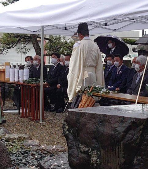 堀尾金助祭り式典